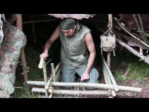 Solo Overnight Bushcraft Camp (Full Documentary)