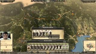 Стрим - обзор Total War: ATTILA (как играть в Total War: ATTILA)