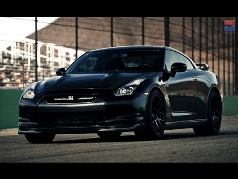 1400 Horsepower AMS Performance Alpha 12 Nissan GT-R - CAR and DRIVER