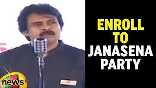 Give A Missed Call To 9394022222 for Membership to Janasena Party says Pawan | Mango News - MANGONEWS