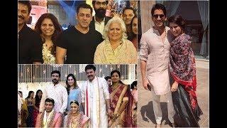 Salman Khan, Ram Charan, ChaySam & Other Celebs Attends Ashritha Marriage - RAJSHRITELUGU