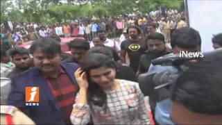 Actress Samantha Announces Her Marriage Date In Hanamkonda | Warangal | iNews - INEWS