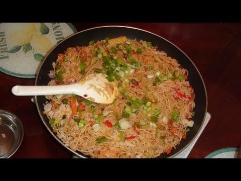 Vegetable Fried Rice - Video Recipe by Bhavna