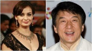 Dia Mirza To Play Maanyata in Sanjay Dutt's Biopic| Jackie Chan In India
