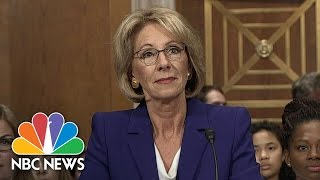 Betsy DeVos Faces Off Against Democrats in Hearing for Secretary of Education | NBC News - NBCNEWS