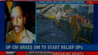 Noida building collapse: 1 more dead body recovered; noida police on the lookout for builder - NEWSXLIVE