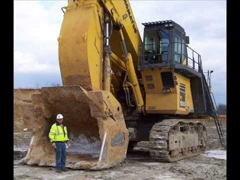 Hydraulic mining Excavator Terex, Komatsu, Liebher, Hitachy, Caterpillar