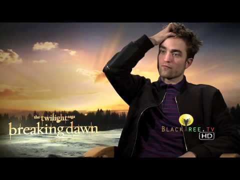 Rob Pattinson speaks of his final scene with Kristen Stewart | Twilight Breaking Dawn Part 2