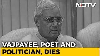 Atal Bihari Vajpayee, And His Legacy Of Straddling The Political Divide - NDTV