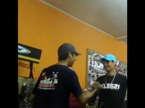 Fabinho Da Hornet Após o Acidente Meu primeiro encontro c/Fabinho  Na loja do Tiozao (KLE621) é Nois