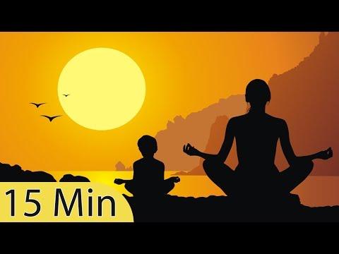 15 Minute Super Deep Meditation Music: Relax Mind Body, Inner Peace, Relaxing Music, ☯2800B
