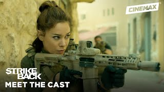 Meet the New Team: Captain Natalie Reynolds | Strike Back | Cinemax - CINEMAX