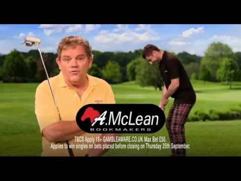 Ryder Cup Golf Betting with AMcLean Bookmakers - New TV Ad