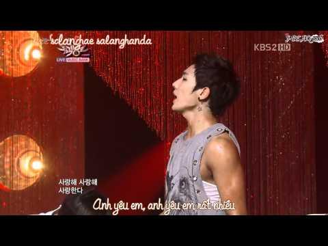 [Vietsub + Kara][Perf] Mona Lisa - MBLAQ KBS Music Bank