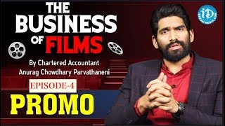 INCOME TAX RETURNS | The Business Of Films - Ep 4 | Promo | Chartered Accountant Anurag Chowdhary - IDREAMMOVIES