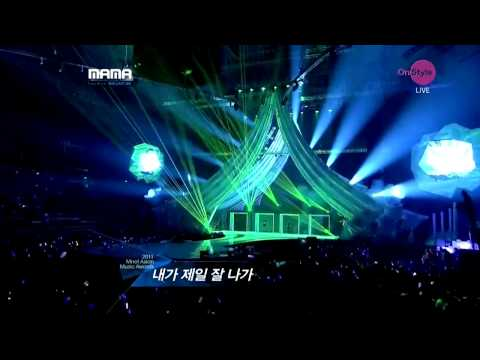 [HD 111129] 2NE1 - Lonely + I Am The Best [MAMA 2011 in Singapore]