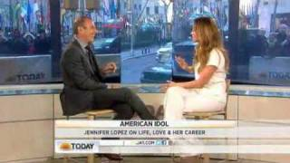 Jennifer Lopez on the Today Show 2012
