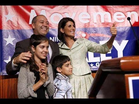Nikki Haley elected as Governor of South Carolina