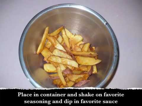 How to make the BEST old fashioned deep fried fresh french fries recipe