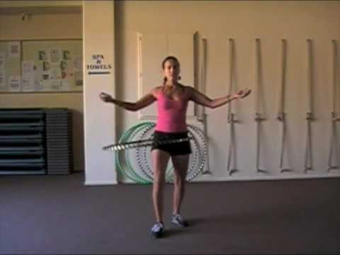 Hula Hoop Fitness Video
