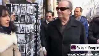 Jack Nicholson in Paris (March 2013)