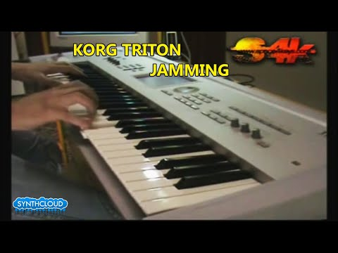 Korg Triton Demostration By S4K, keyboard solo (Fantom Motif Dream Theater Jordan Rudess)