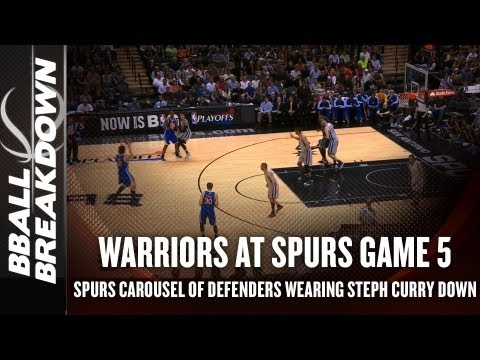 Spurs vs Warriors Game 5: How Tony Parker Has Worn Steph Curry Out