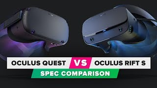 Oculus Quest vs. Oculus Rift S: Spec comparison - CNETTV
