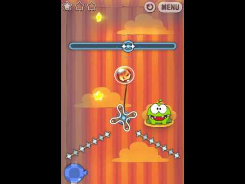 Cut The Rope 3 Star Walkthrough Gift Box Level 25