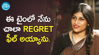 I Always Regretted Doing That - Madha Director Srividya Basawa | Frankly With TNR | iDream Movies - IDREAMMOVIES