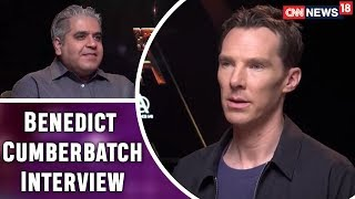 Benedict Cumberbatch Interview with Rajeev Masand | Avengers: Infinity War | CNN News18 - IBNLIVE