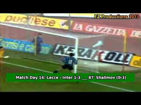 Serie A 19931994, day 14 Lecce - Inter 1-3 Shalimov 2nd goal)