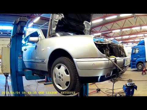 Снятие WEBASTO Thermo Top S removal/Mercedes W210