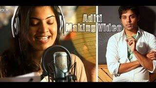 Aditi Song Making || Telugu Short Film || Presented by iQlik Movies - YOUTUBE