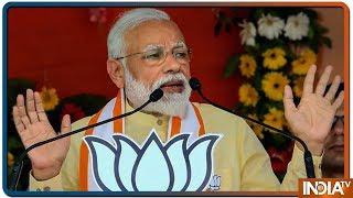 PM Modi का Roadshow हुआ चालू, लाखों लोग उमड़े सड़कों पर  #PMModiInVaranasi - INDIATV