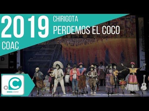 La agrupación Perdemos el coco llega al COAC 2019 en la modalidad de Chirigotas. Primera actuación de la agrupación para esta modalidad.