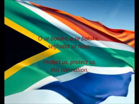 "South African National Anthem - ""Nkosi Sikelel' iAfrika"" (AF/EN)"