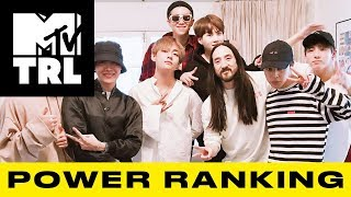 BTS Smashes a Streaming Milestone, Ariana Grande Drops 'Thank U, Next' & More! | TRL Power Ranking - MTV