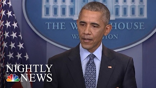 A Look Back At President Barack Obama: Father-In-Chief | NBC Nightly News - NBCNEWS