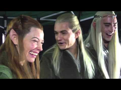 Orlando Bloom, Evangeline Lilly and Lee Pace React to 'Happy Hobbits' Livestream Trailer (HD)