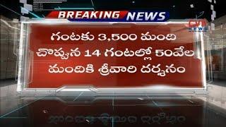 TTD enabled limited Darshan   Allow Only Limited 'Sarva Darshan' Due To Mahasamprokshanam   CVR News - CVRNEWSOFFICIAL
