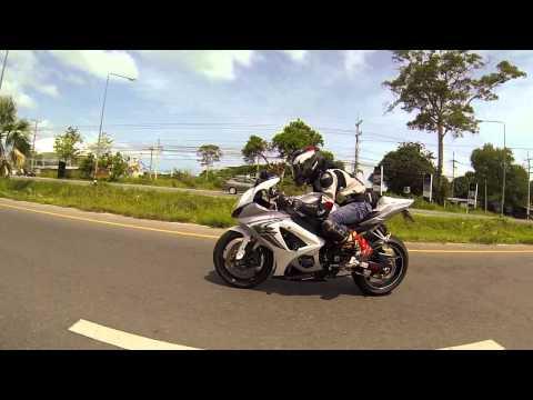 GSXR1000+ZX10R+R1 : Khao Chi Chan : Pattaya, Chonburi @ THAILAND [Gopro Hero3]