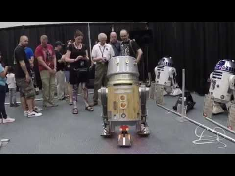 A Couple of Droids at Star Wars Celebration Anaheim 2015
