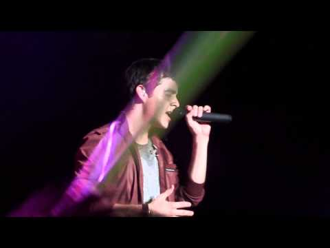 David Archuleta-Stand By Me-Live Kuala Lumpur 26th July 2011 Asia Tour