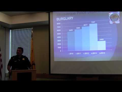 District Attorney Kari Brandenburg Discusses Property Crimes
