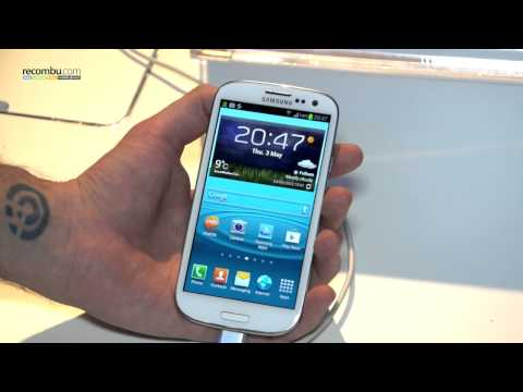 Samsung Galaxy S3 hands-on video -mG6TUbqn9rc