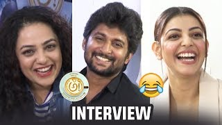 AWE Movie Team Super Funny Interview | Nani | Regina | Nithya Menen | Kajal | Eesha | TFPC - TFPC