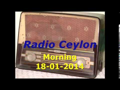 Radio Ceylon 18-01-2014~Saturday Morning~02 Tribute to K L Sehgal (Purani Filmon Ka Sangeet)