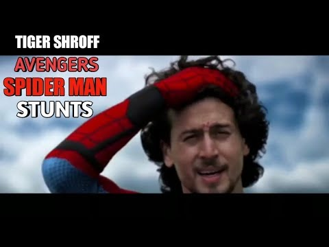 Tiger Shroff Stunds inspired by Spiderman game | Dance | Training | BollywoodNews