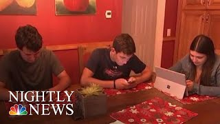 Study Finds Heavy Tech Use Linked To ADHD | NBC Nightly News - NBCNEWS